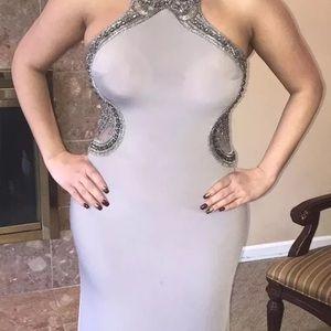 Woman's Embellished Evening Dress
